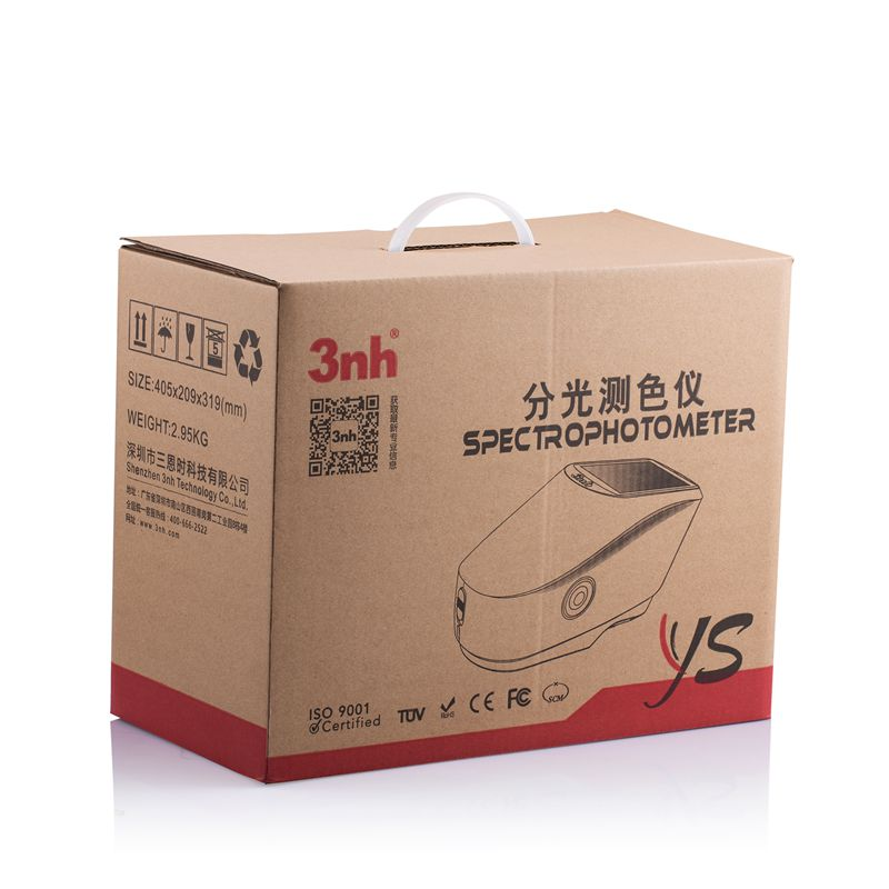 YS3020 spectrophotometer carton box